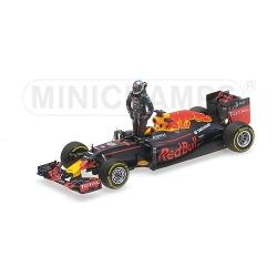 MINICHAMPS 417160603 Red Bull RB12 Ricciardo Spielberg 2016
