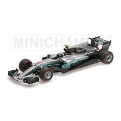 MINICHAMPS 417170477 Mercedes W08 Bottas Vainqueur Sotchi 2017