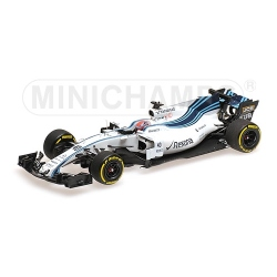 MINICHAMPS 417172040 Williams FW40 Kubica Test Abu Dhabi 2017