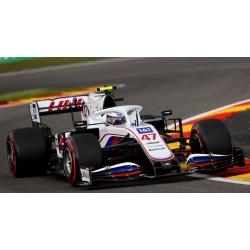 MINICHAMPS 417211347 Haas VF-21 Schumacher Spa 2021