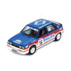 IXO RAC312 RENAULT 11 Turbo n°16 Oreille Tour de Corse 1987