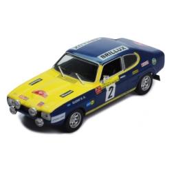 IXO RAC308 Ford Capri n°2 Röhrl Rallye Baltic 1972