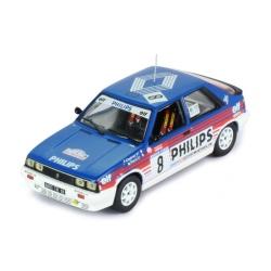 IXO RAC311 Renault 11 Turbo n°8 Chatriot Tour de Corse 1987