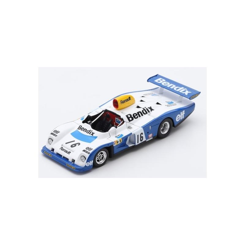 SPARK Renault Alpine A 442 n°16 Le Mans 1977