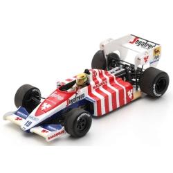 SPARK S2784 Toleman TG184 n°19 Senna Portugal 1984