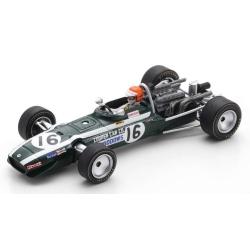 SPARK S6987 Cooper T86B n°16 Widdows Brands Hatch 1968