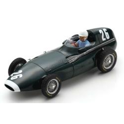 SPARK S7206 Vanwall VW5 n°26 Moss Vainqueur Pescara GP 1957