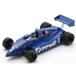 SPARK S7283 Tyrrell 011 n°3 Alboreto Hockenheim 1982