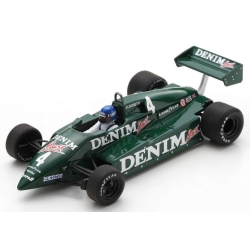 SPARK S7284 Tyrrell 011 n°4 Henton Monza 1982