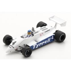 SPARK S7282 Tyrrell 011 n°4 Borgudd Kyalami 1982