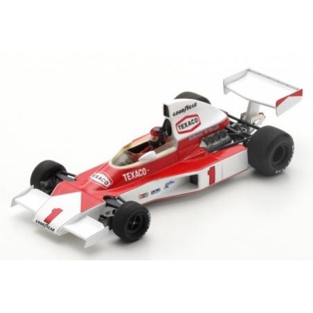 SPARK S5743 McLaren M23 n°1 Fittipaldi Winner Silverstone 1975