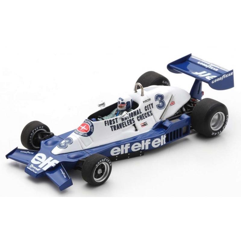 SPARK Tyrrell 008 n°3 Pironi Hockenheim 1978 (%)