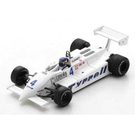 SPARK S7281 Tyrrell 011 n°4 Alboreto  Zandvoort 1981