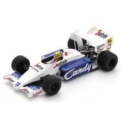 SPARK S2778 Toleman TG184 n°19 Senna Monaco 1984