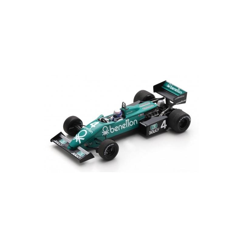 SPARK Tyrrell 011 n°4 Sullivan Monaco 1983 (%)