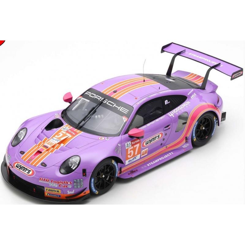SPARK 1/12 Porsche 911 RSR n°57 24H Le Mans 2020 (%)