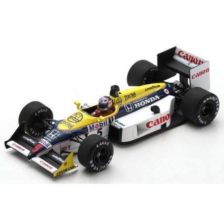 SPARK Williams FW11B n°5 Mansell Winner Le Castellet 1987 (%)
